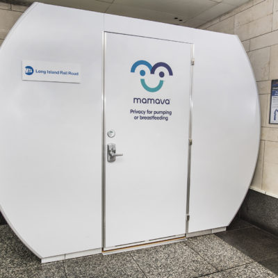 MTA LIRR Unveils First Customer Lactation Pod To Accommodate On-The-Go Moms At Penn Station