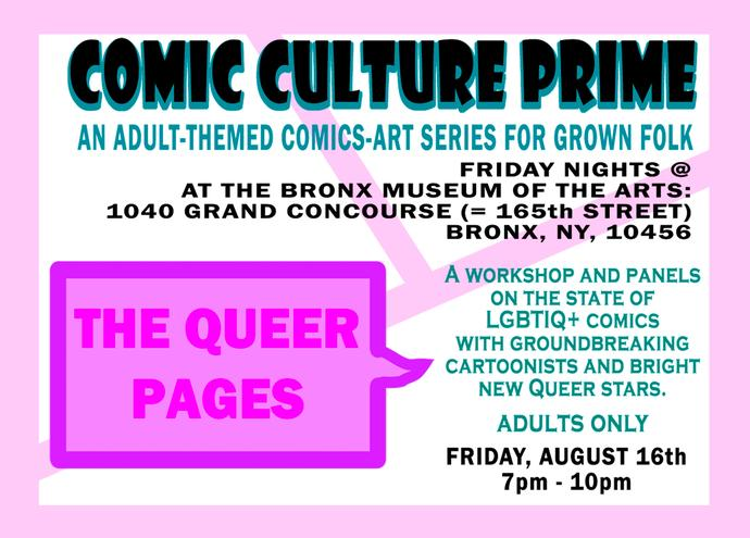 Comic Culture Prime: Queer Pages