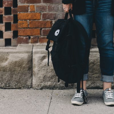 New Backpacks For Kids, Filled With School Supplies