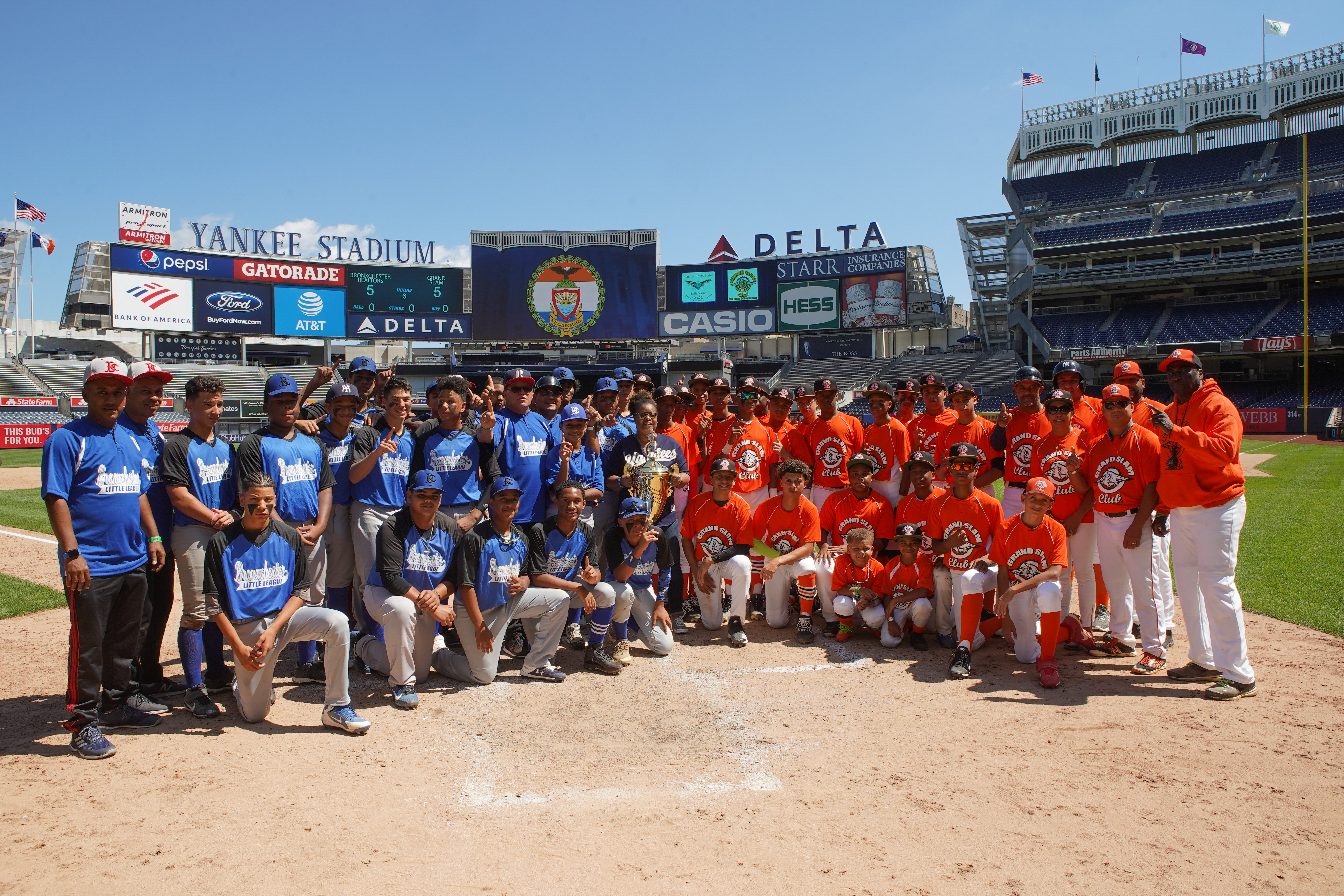 "9th Annual ""Borough President's Cup"" Baseball Championship"