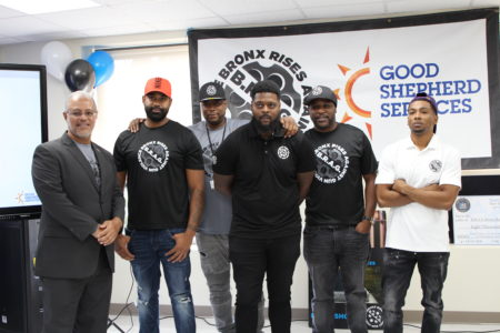 Good Shepherd Services' Bronx Rises Against Gun Violence Opens A New Office
