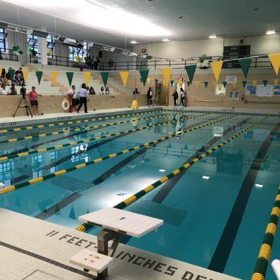 Newly Renovated Pool At Bronx Community College