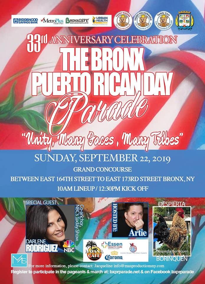 Bronx Puerto Rican Day Parade 2019