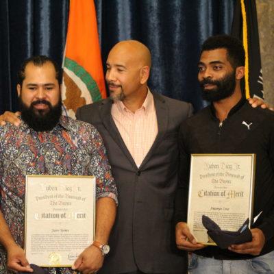 Bronx Heroes Jairo Torres & Antonyo Love Honored