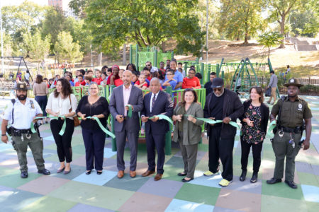 St. Mary's Playground West Upgraded