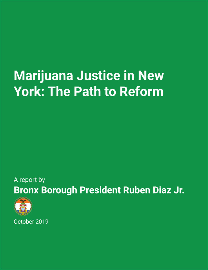 Report On Marijuana Justice In New York State