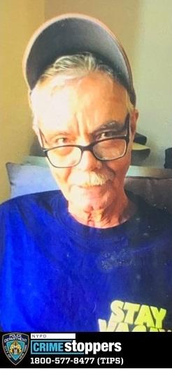Bienvenido Laureano, 72, Missing
