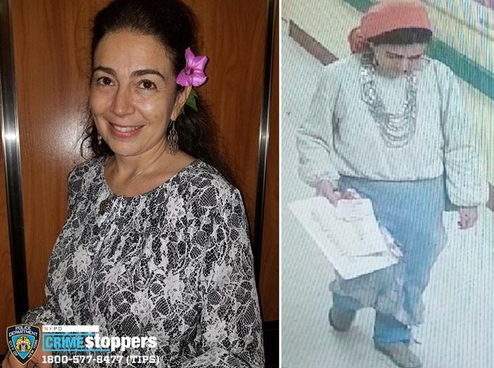 Elena Baksht, 46, Missing