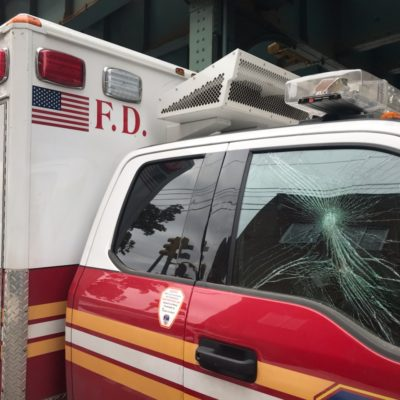 Karim Murdoch, 22, Vandalized 6 FDNY Ambulances