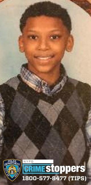 Xavier Mason, 12, Missing