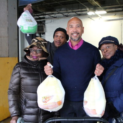 Providing Thanksgiving Turkeys To Community Groups