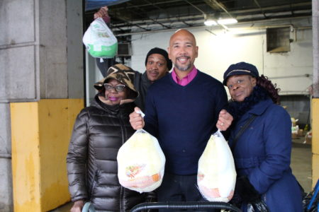 Providing Thanksgiving Turkeys To Community Groups