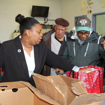 Thanksgiving Turkeys Distributed At BronxWorks