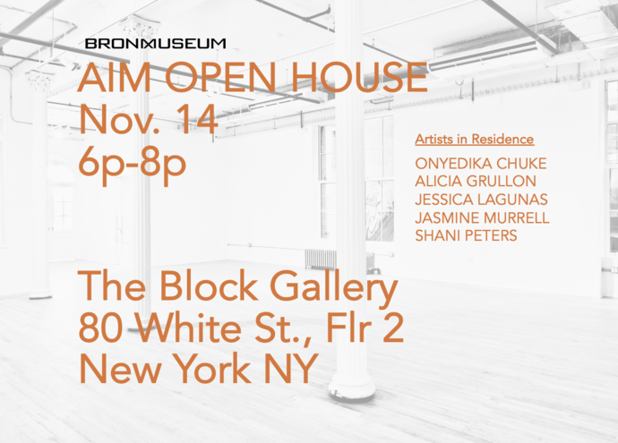 AIM Open House At The Block Gallery