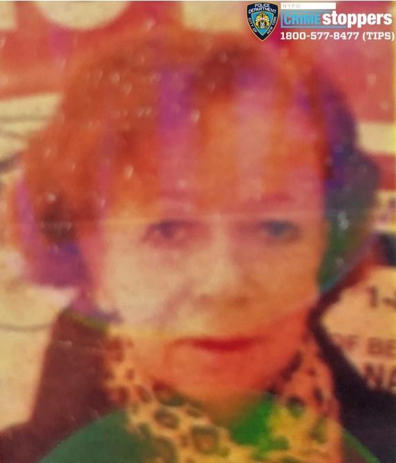 Carmen Moncada, 72, Missing