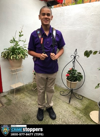 Cesar Mendez, 12, Missing