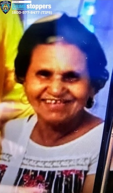 Maria Ozaria-Martinez, 77, Missing