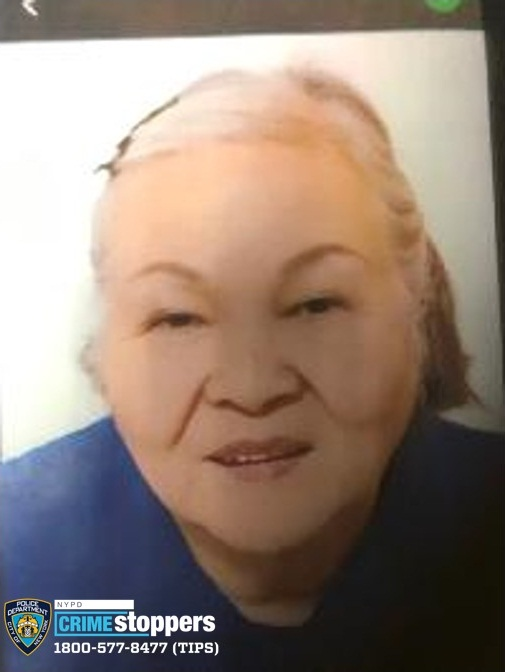 Yu Yin Chen, 86, Missing