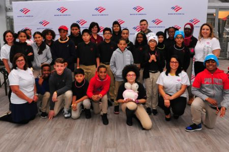 Bank Of America Hosts New York City Youth For Holiday Shopping To Bring Personal Finance Lessons To Life