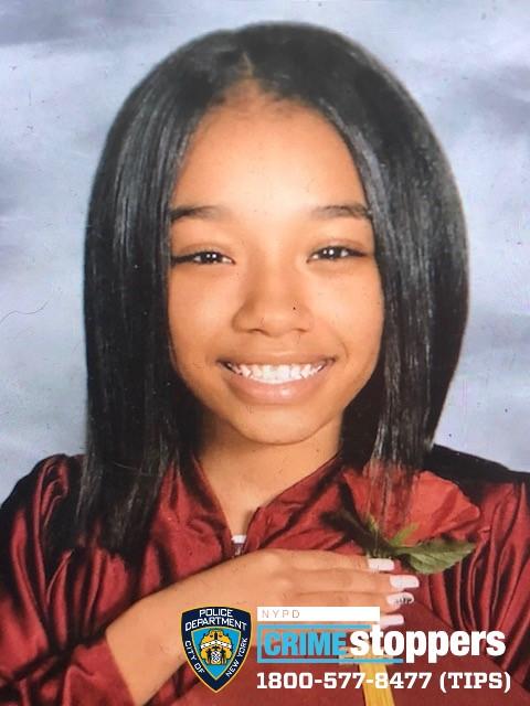 Daijah Braddox, 14, Missing