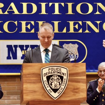 Dermot Shea Becomes NYPD's 44<sup>th</sup> Police Commissioner