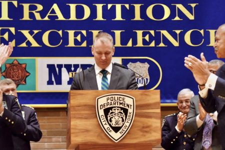 Dermot Shea Becomes NYPD's 44th Police Commissioner
