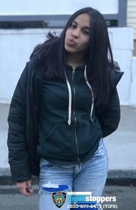 Janay Ortiz, 15, Missing