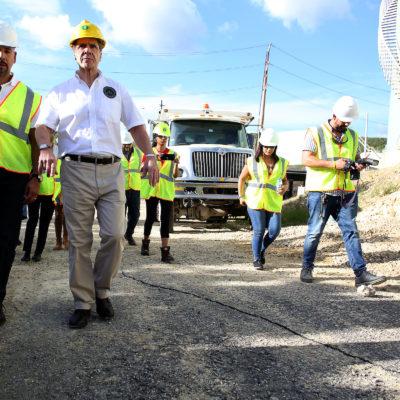 Bronx Borough President Diaz Visits Puerto Rico To Assess Earthquake Damage