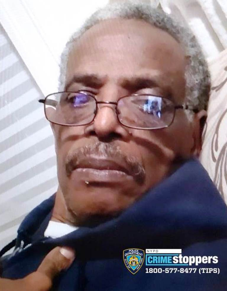 Enrique Jones, 70, Missing