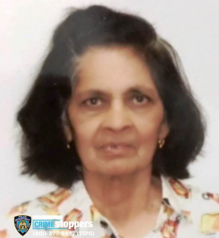 Juliet Ramikissoon, 82, Missing