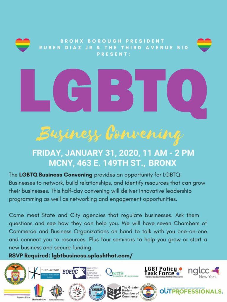 Bronx LGBTQ Business Convening