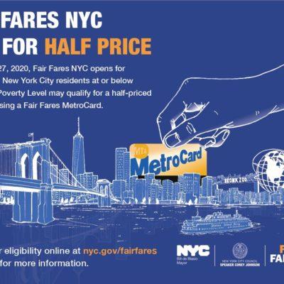 "Expansion Of City's ""Fair Fares"" Program"