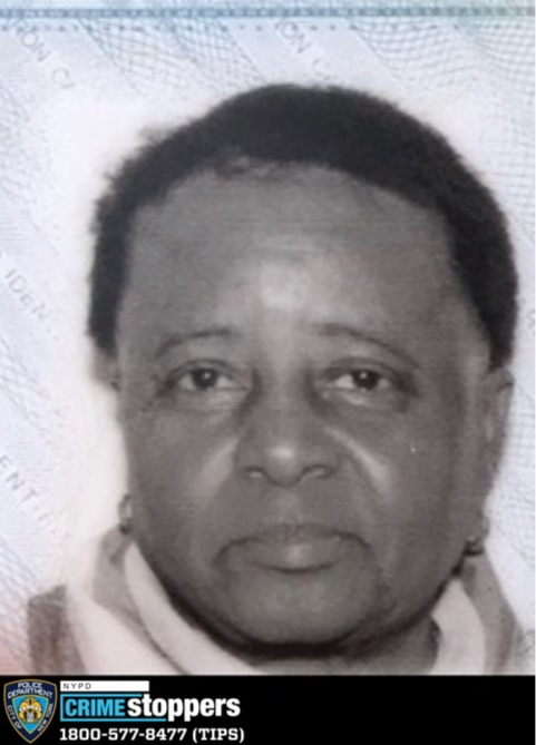 Maria Camille, 75, Missing
