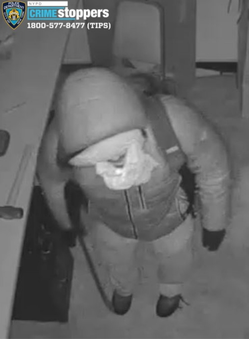 Help Identify A Commercial Burglary Suspect