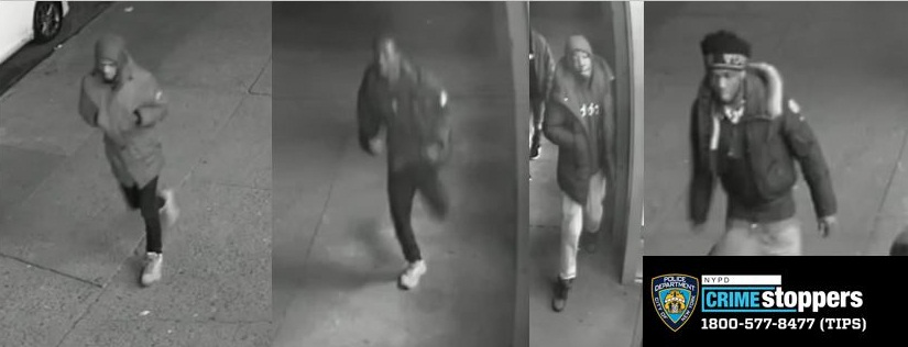 Help Identify A Robbery Gang