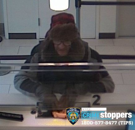 Help Identify A Bank Robbery Suspect