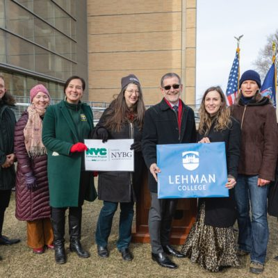 NYS Senator Biaggi & Lehman College Announce $340K In Capital Funding For Composting Education Center