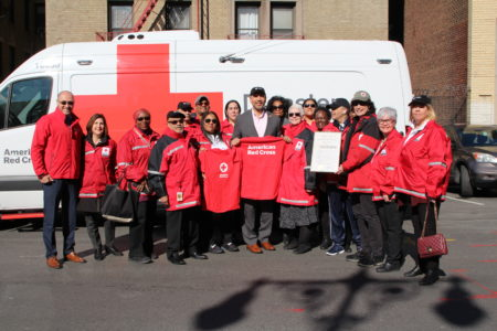 American Red Cross Volunteers Honored