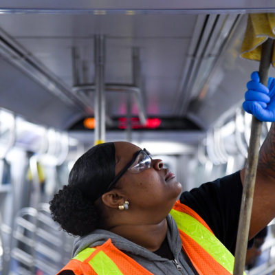 MTA Doubles Sanitizing Efforts