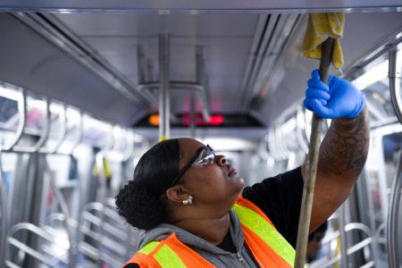 MTA Doubles Sanitizing Efforts