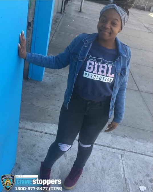 Cameille McKenzie, 16,  Missing