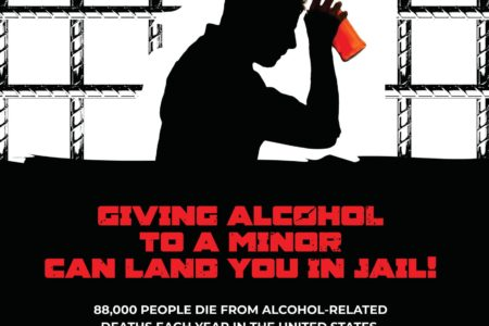 Giving Alcohol To A Minor Can Land You In Jail