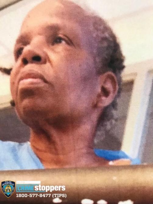 Yvonne Benjamin, 70, Missing