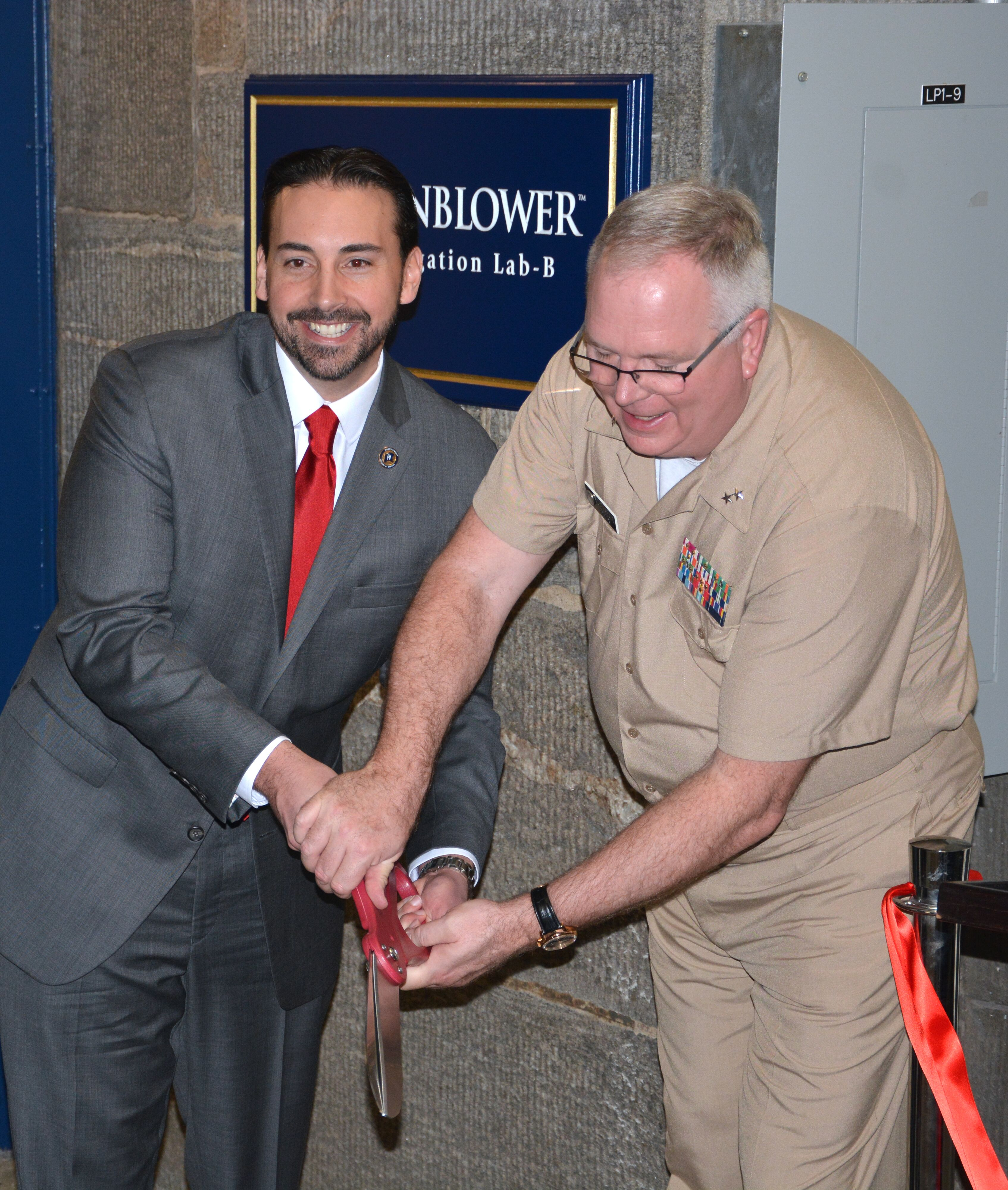 "SUNY Maritime College Hosts Ribbon Cutting Naming Ceremony For ""Hornblower E-Navigation Lab"""