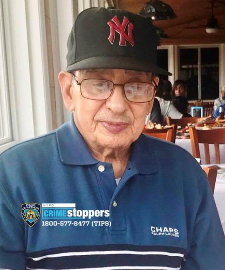 Isaias Alvarado, 84, Missing