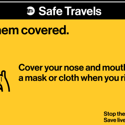 "MTA Launches ""Keep Them Covered"" Campaign"