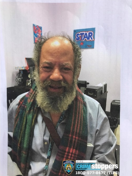 Reynoldo Llopiz, 74, Missing