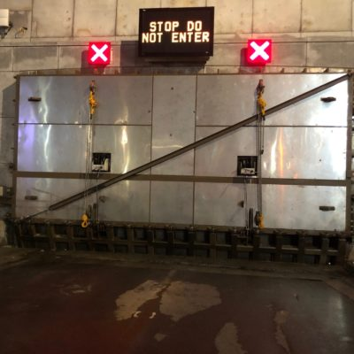 MTA Bridges & Tunnels Tests Tunnel Flood Gates