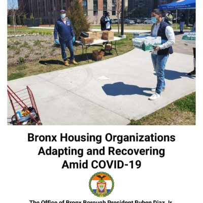 Bronx Housing Organizations Adapting And Recovering Amid COVID-19