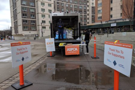 ASPCA Provides Free Pet Food For Bronx Residents